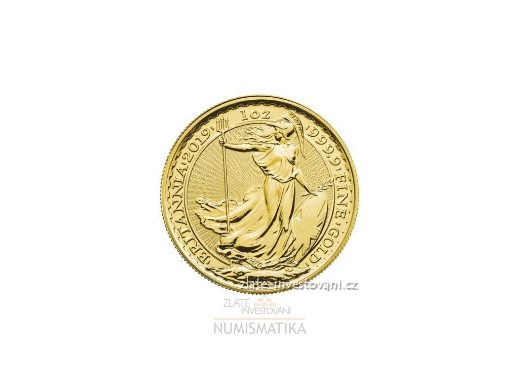 6890 investicni zlata mince britannia 2019 1 oz
