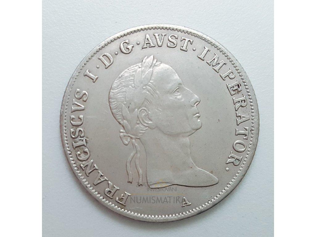 Stříbrný 20 krejcar František I. 1832 A
