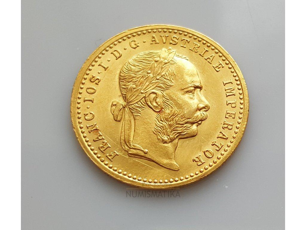 Zlatý dukát František Josef I.1912