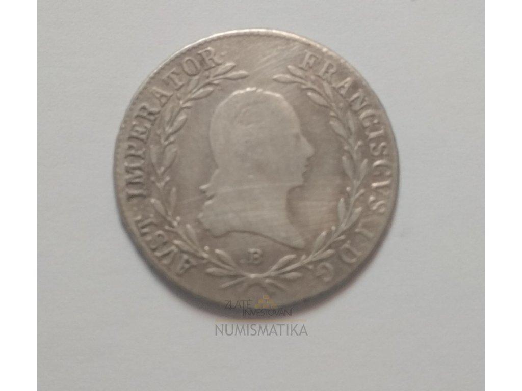 10 krejcar1815 B
