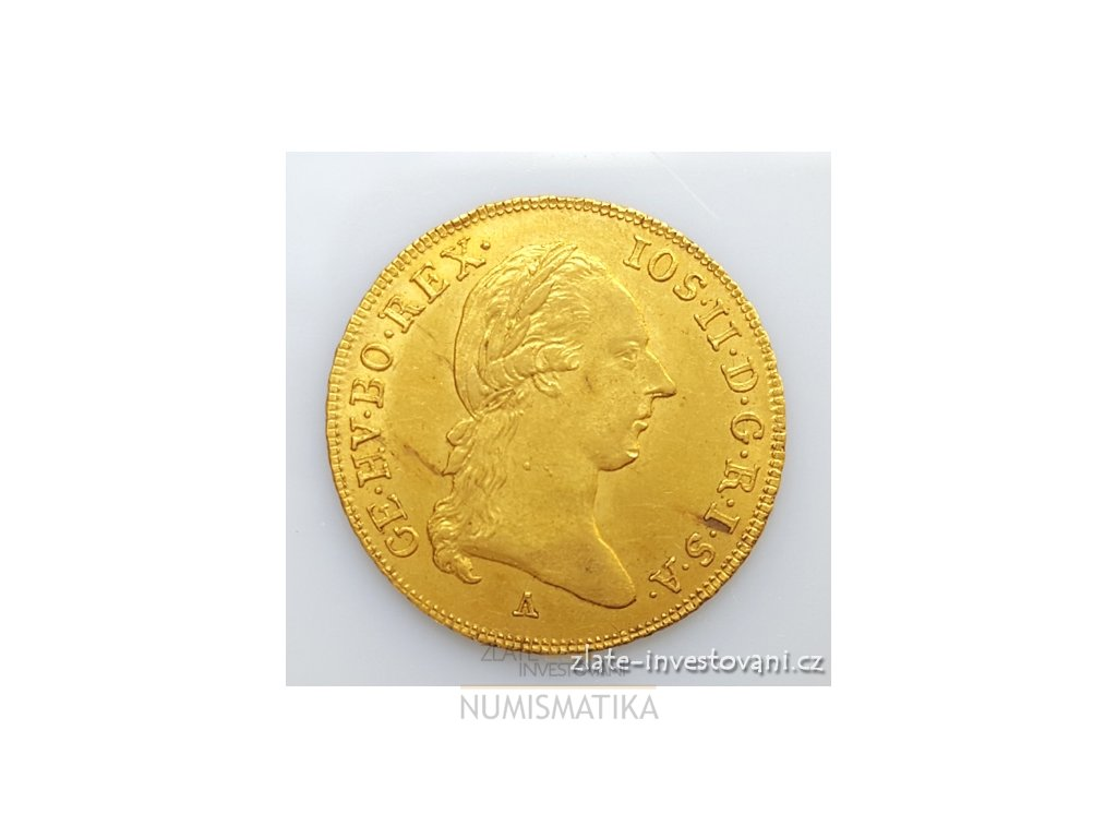 5534 zlaty dukat josef ii 1787 a