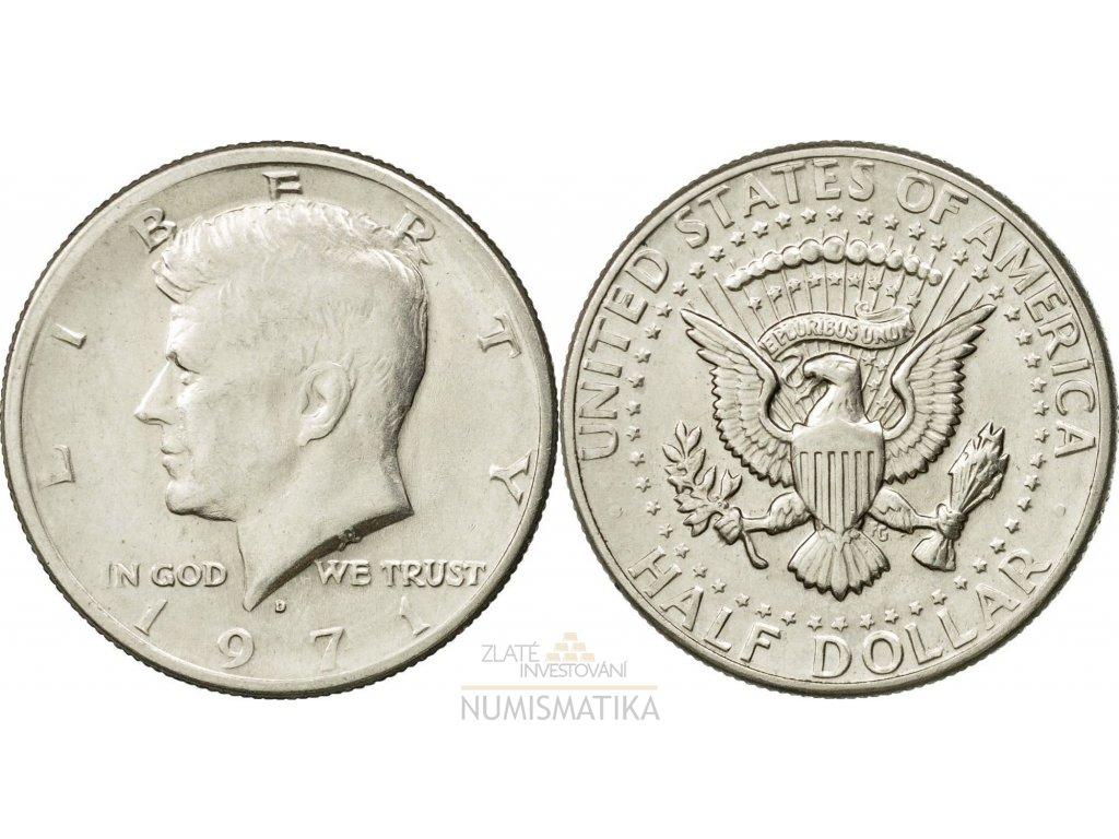 Half dollar J. F. Kennedy1971