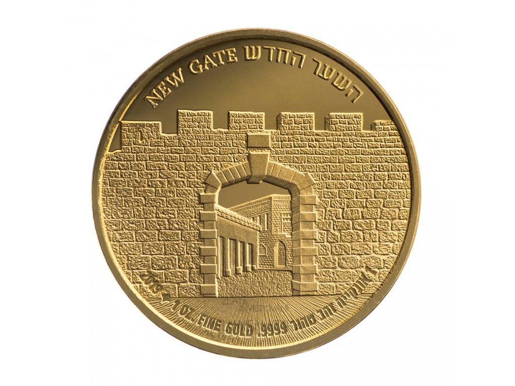 zlatá mince NEW GATE 2019