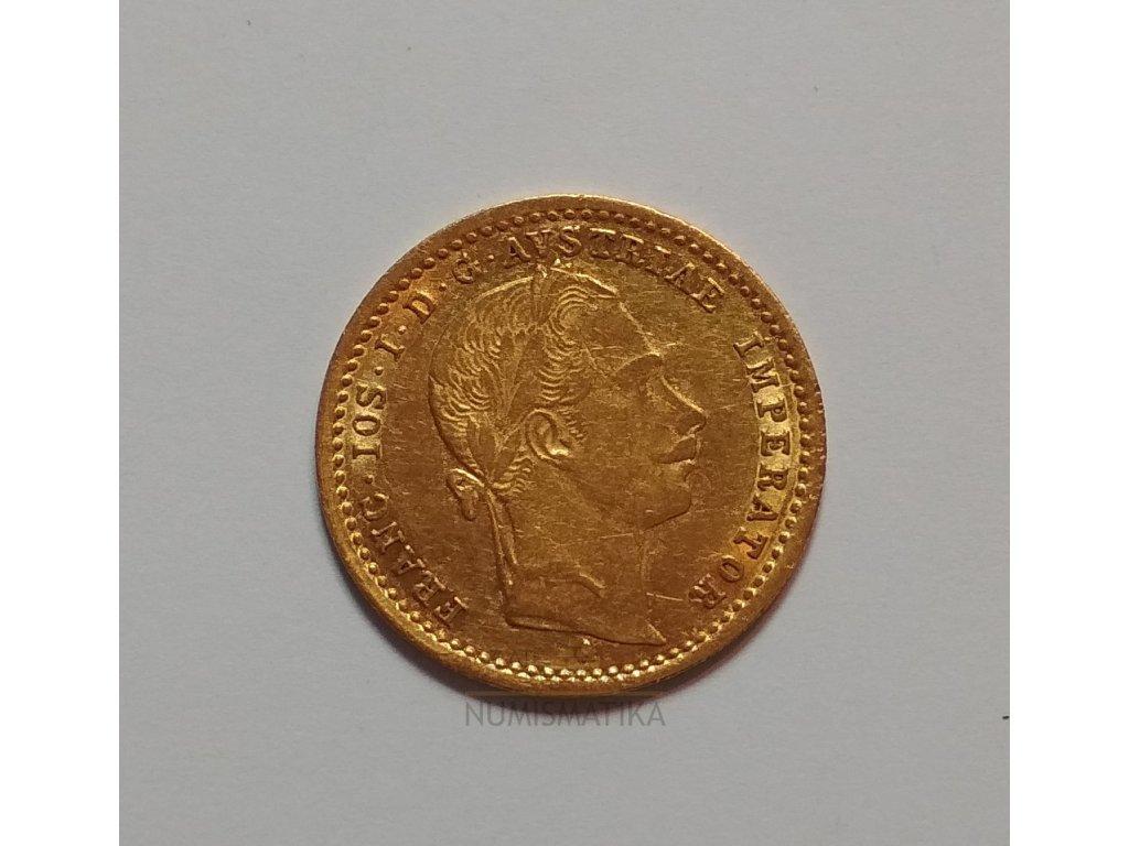 Zlatý Dukát Františka Josefa I.-1862 A