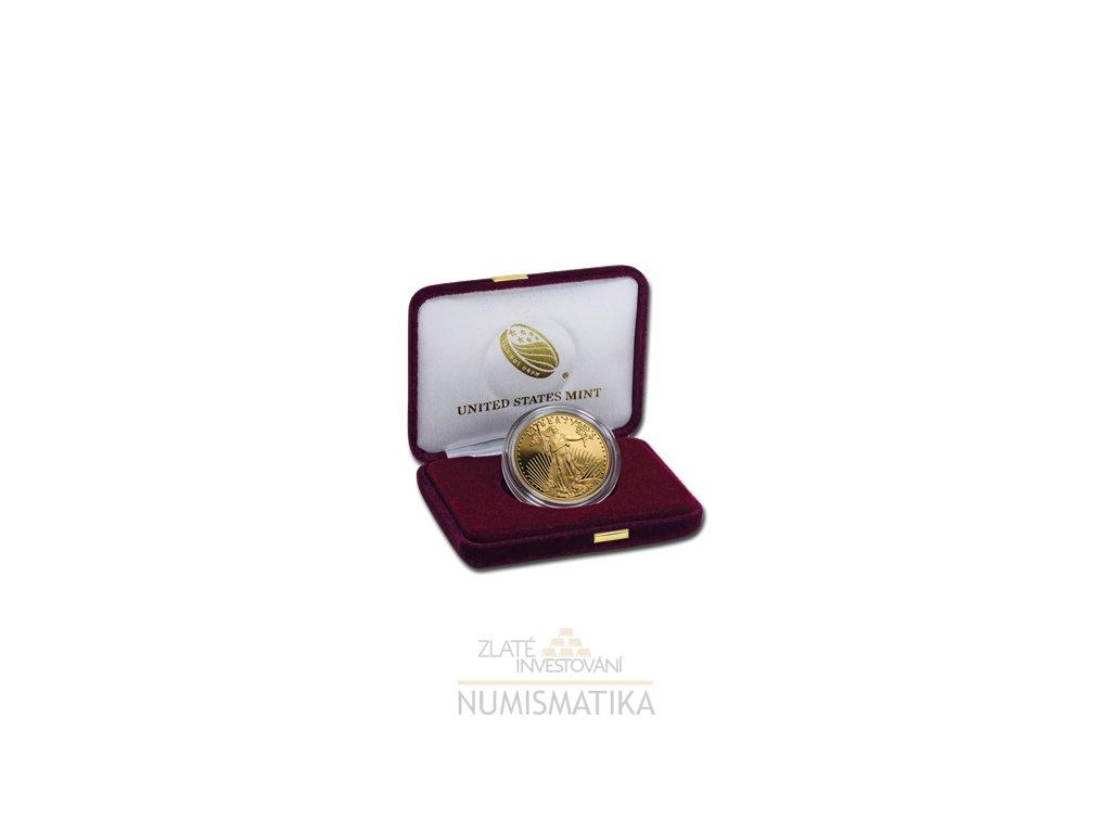 Zlatá mince americký Eagle proof 1 Oz-2019