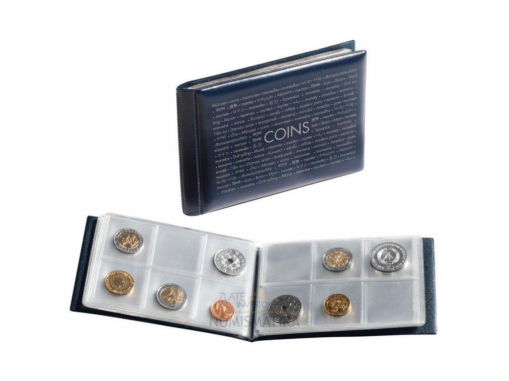 Kapesní album na sběratelské mince