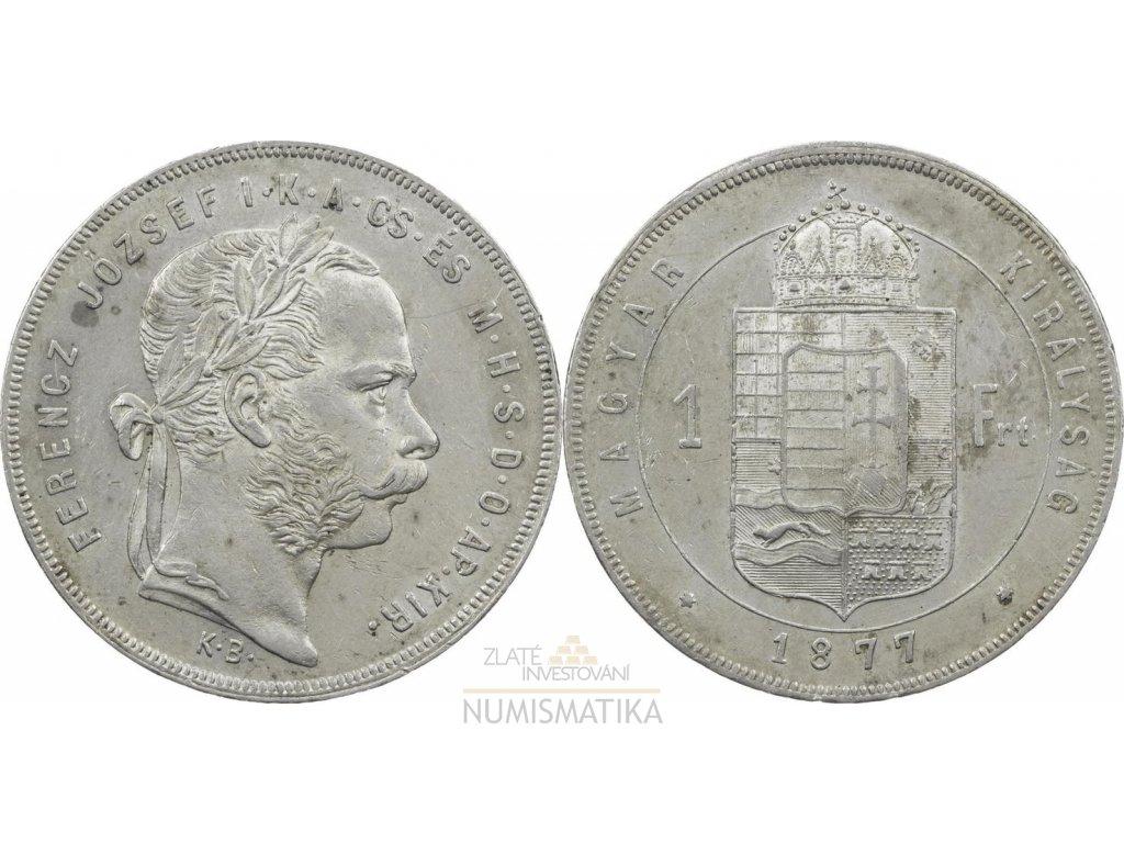 zlatník František Josef 1877 KB