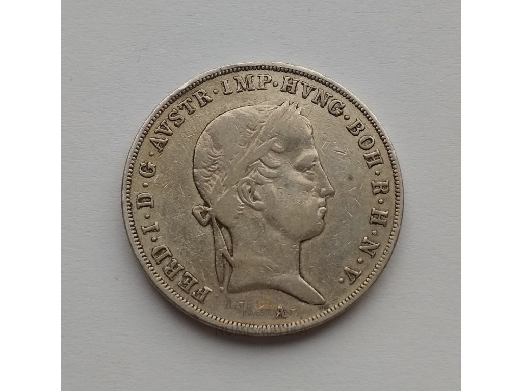 Půl tolar 1841 A Ferdinand V.