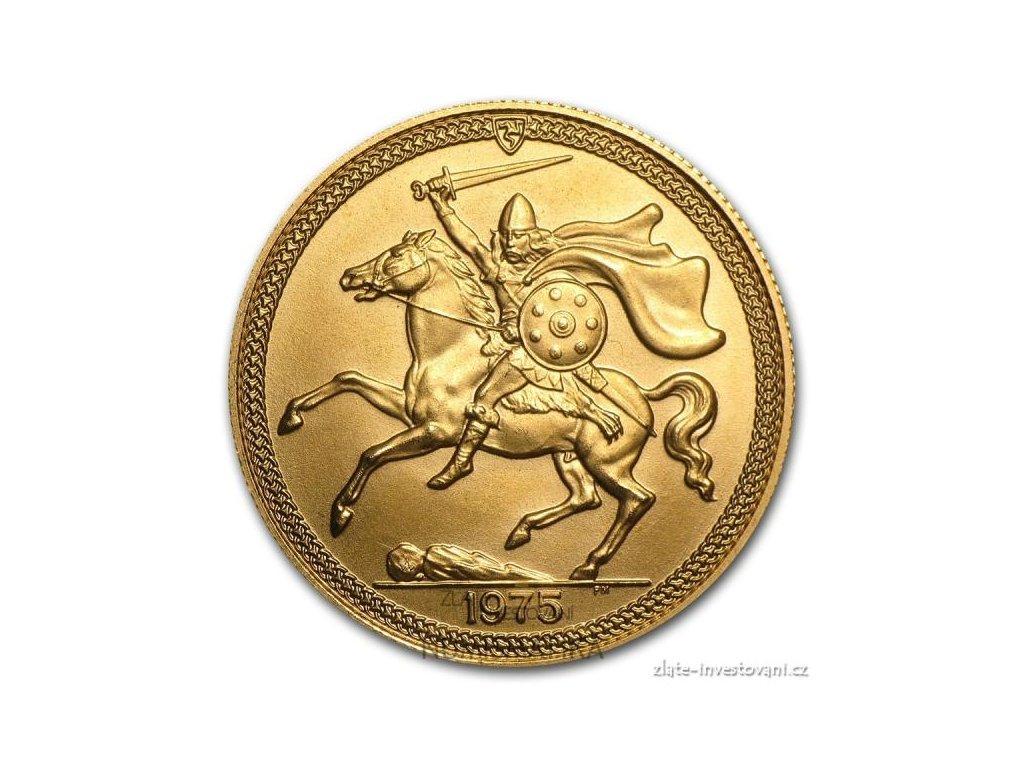 Zlatý Sovereing-Viking