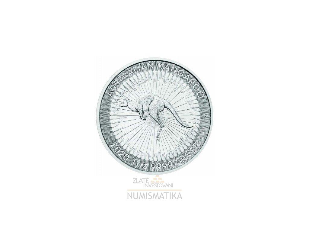 Stříbrná mince klokan 1 Oz 2020