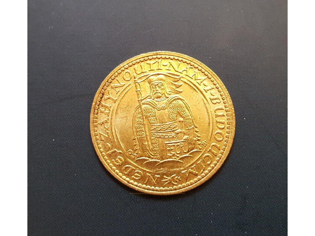 Zlatý svatováclavský dukát 1926