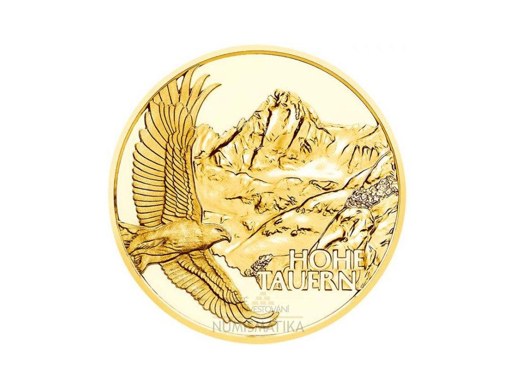 Zlatá moderní mince At the highest peak 2020 proof