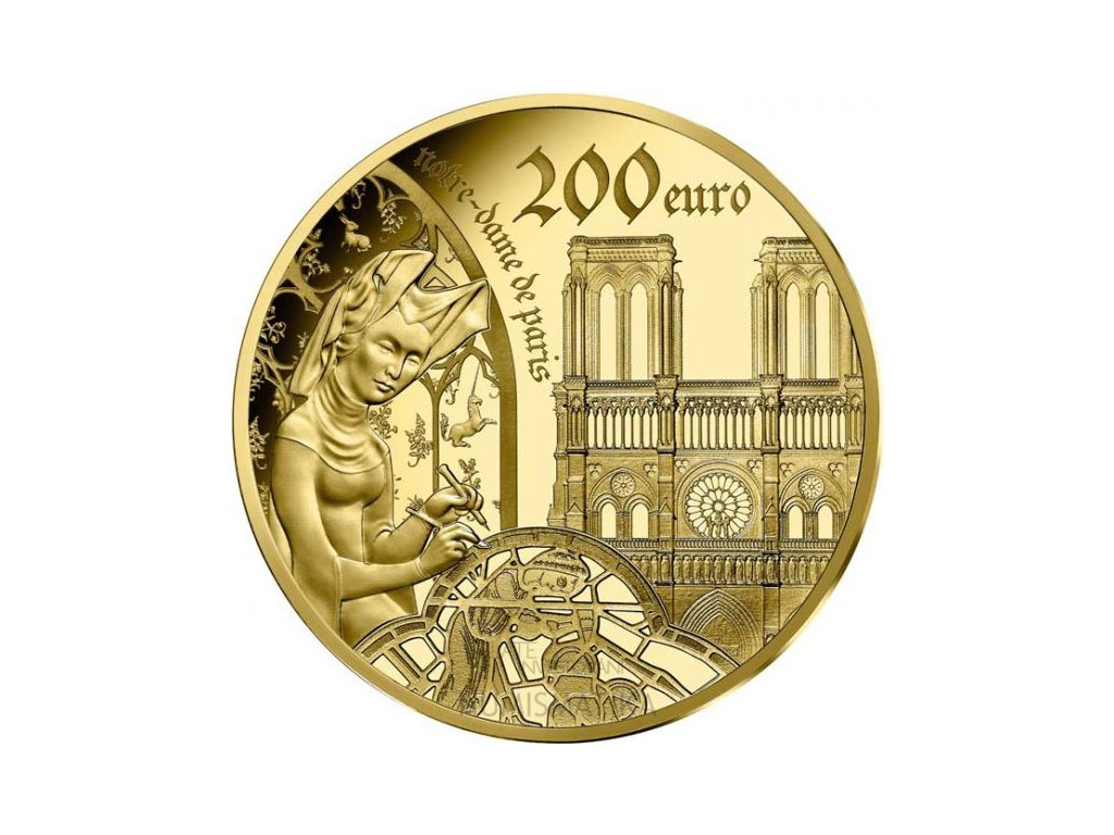 Zlatá mince Evropa 2020: Gothic -1 Oz Proof