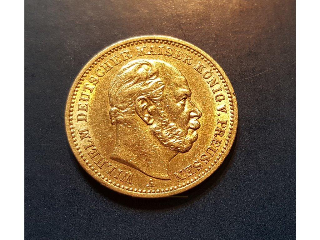 Zlatá 20 marka 1886