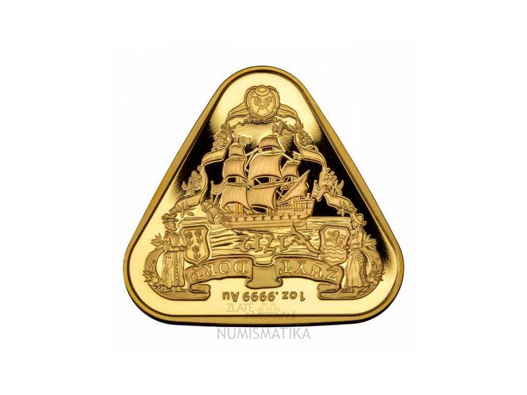 Zlatá moderní mince Zuytdorp 1 Oz 2020