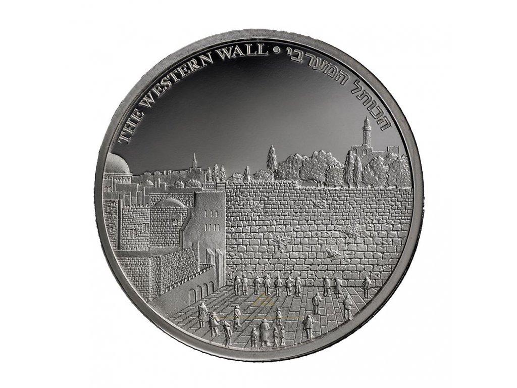 Stříbrná mince Western wall 1 Oz-2020