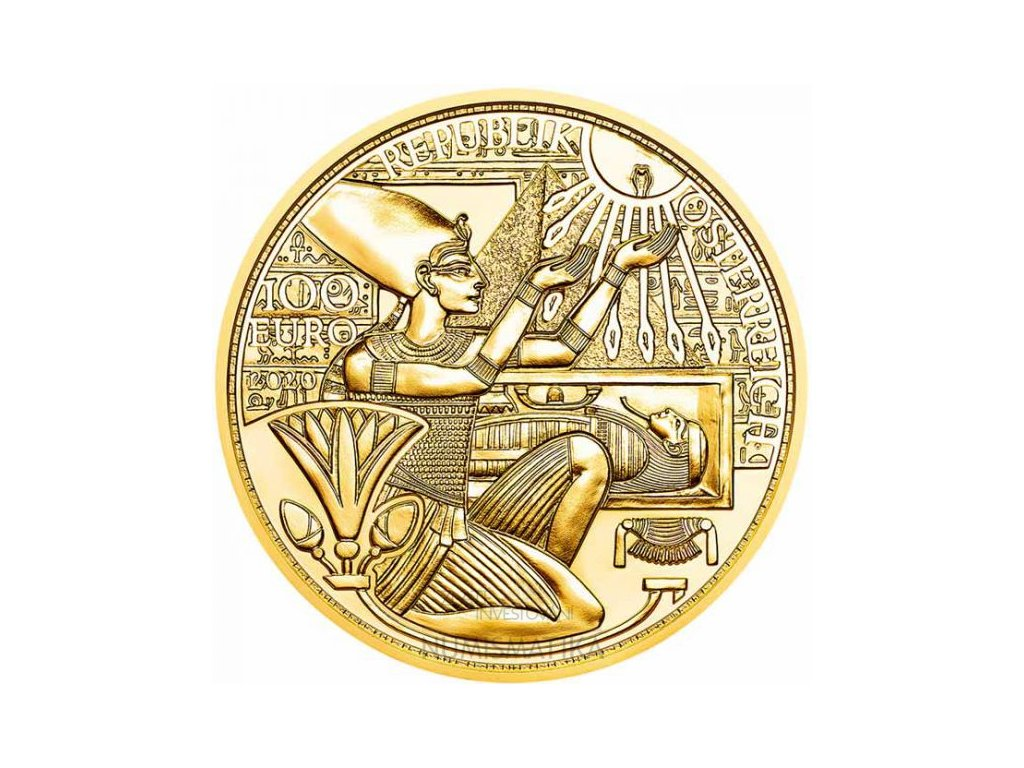 Zlatá mince Magie zlata 2020-Zlato faraonů