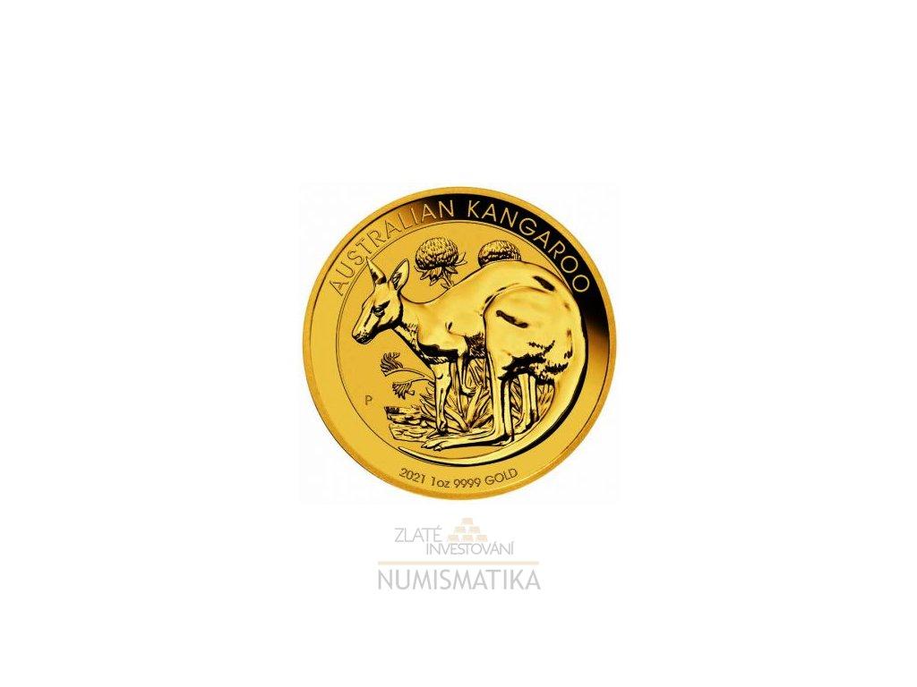 Zlatý nugget-klokan 1 Oz t2021