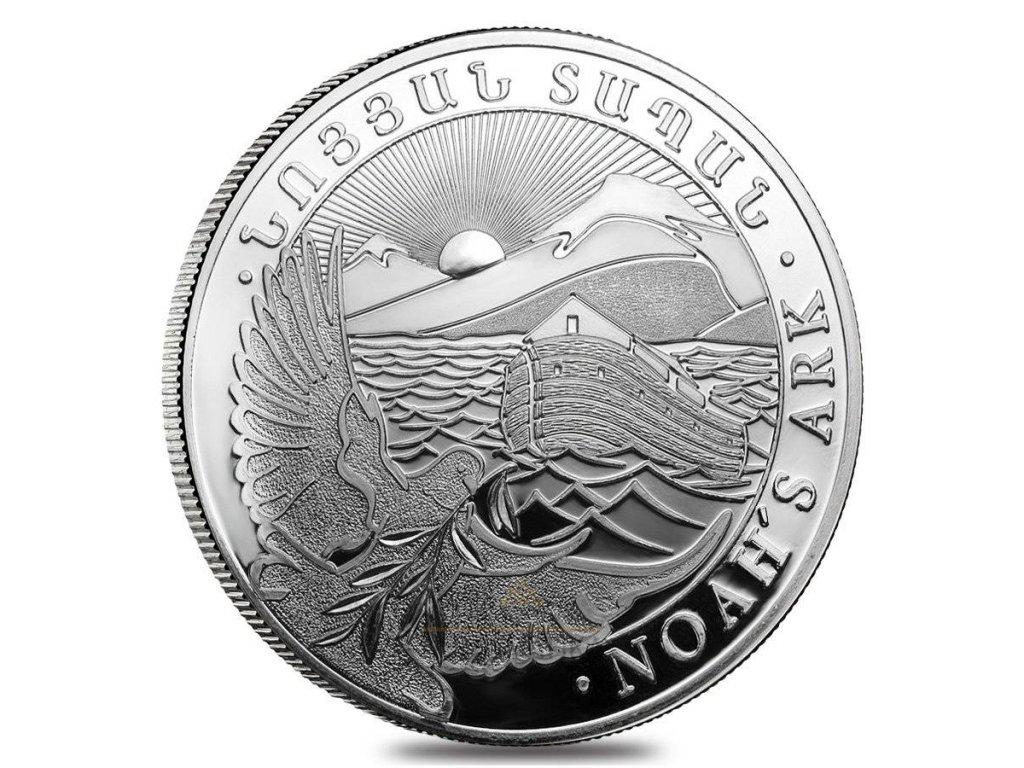 Investiční stříbrná mince Noemova Archa 2021 1 Kg