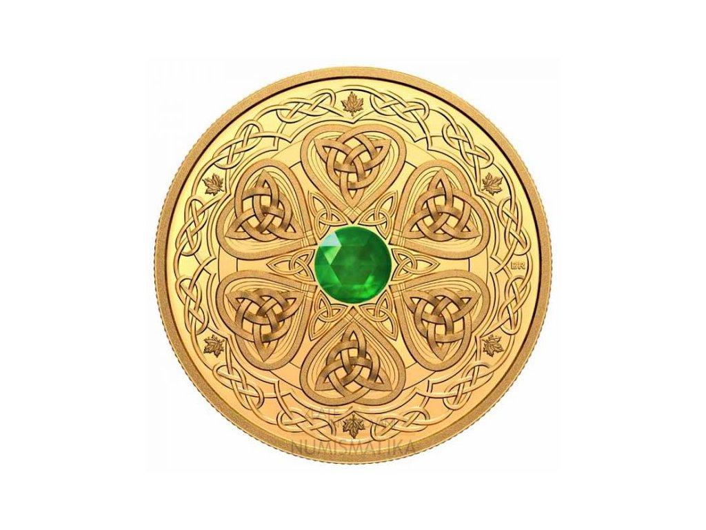 Zlatá moderní mince Eternal Love 1 Oz proof 2021