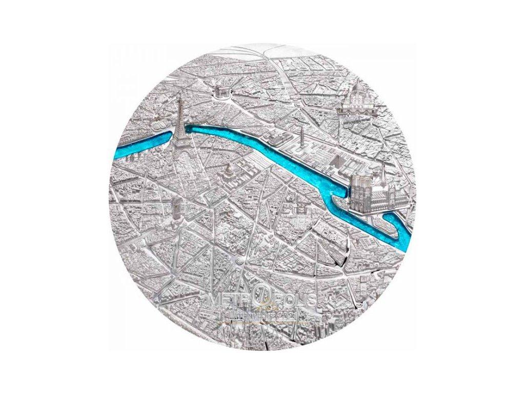 Tiffany Art - Metropole Paříž 3 Oz 2021