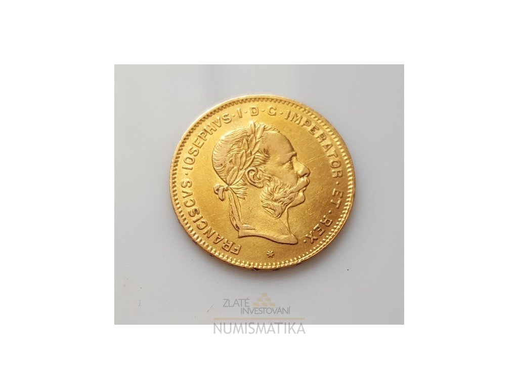 4 zlatník František Josef I. 1888 K.B