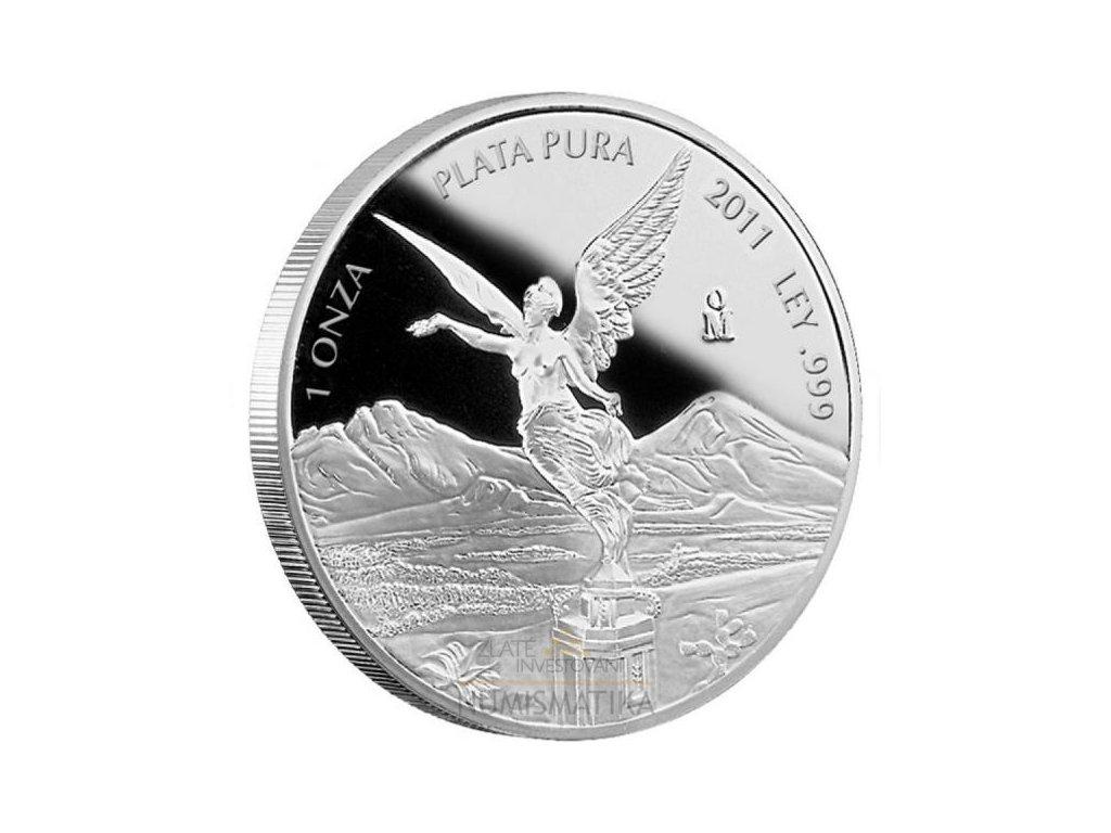 Investiční stříbrná mince Libertad 1 Oz