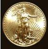 1952 investicni zlata mince american eagle 1 4 oz