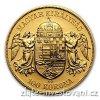 2846 1 zlata mince stokoruna frantiska josefa i uhersko 1908 stojici panovnik