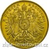 3098 1 investicni zlata mince rakouska desetikoruna novorazba 1912