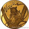 3332 1 zlata mince leopard 1998 serie natura sa mint 1 2 oz