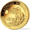 4244 investicni zlata mince somalsky slon 2016 african wildlife 1 oz