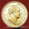 4664 zlata mince anglicky half sovereign william iv