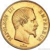 5330 zlaty francouzsky 100 frank napoleon iii 1856