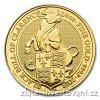 6509 investicni zlata mincebyk kralovny anglie 2018 heraldicka serie 1 4 oz