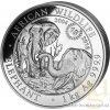 6644 investicni stribrna mince somalsky slon 2018 15 vyrocni mince 1 kg