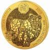 Investiční zlatá mince rok Vepře 2019-lunární série Rwanda