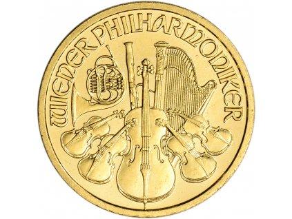 Investiční zlatá mince Philharmoniker 1/2 Oz
