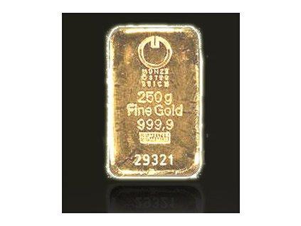 Investiční zlatý slitek Münze Österreich 250g