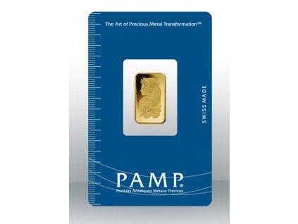Investiční zlatý slitek PAMP Fortuna 2,5 g