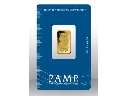 Investiční zlatý slitek PAMP Fortuna 5g
