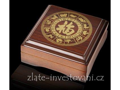 2576 darkova etuje na 1oz zlatou minci lunarniho kalendare ii