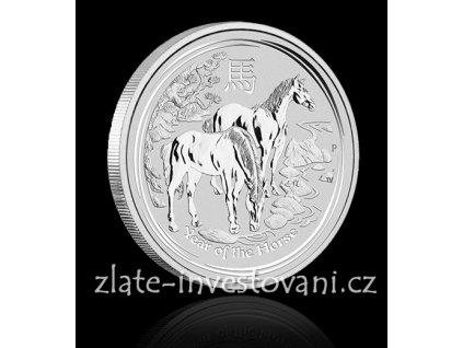 2654 investicni stribrna mince rok kone 2014 1 oz