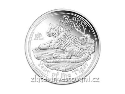 2738 investicni stribrna mince rok tygra 2010 1 oz