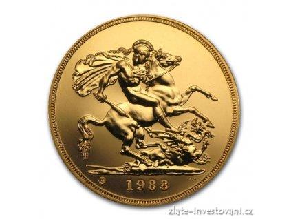 2861 britska zlata petilibra