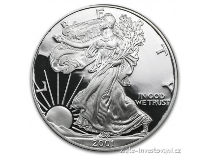 3017 investicni stribrny americky eagle proof 1 oz