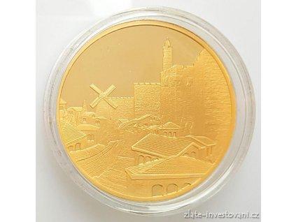 3065 investicni zlata mince mishkenot sha ananim izrael 2016 1 oz