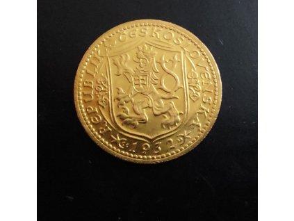 Zlatý svatováclavský dukát 1932