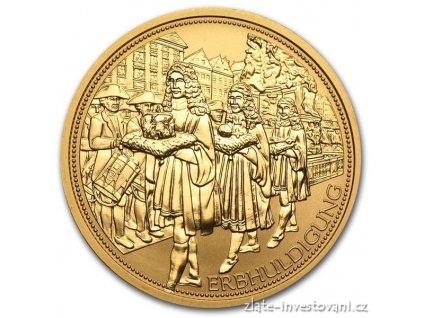 3467 zlata mince rakouska cisarska koruna 100 eur 2009