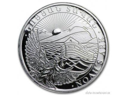 3500 investicni stribrna mince armenska archa noemova 1 2 oz